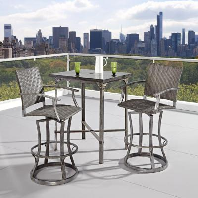 home styles urban outdoor 3 piece patio high dining set 5670 369 the