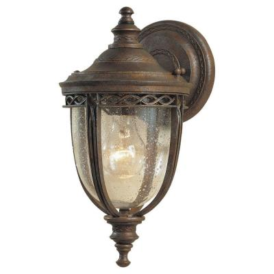 Feiss English Bridle 1-Light British Bronze Outdoor Wall Lantern