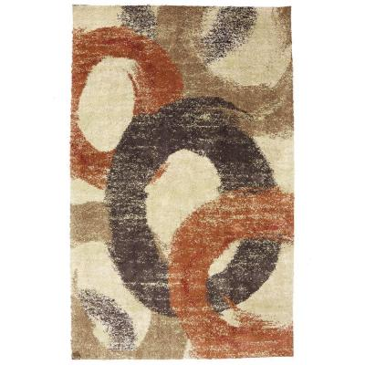 American Rug Craftsmen Pigment Butter Cup 3 ft. 4 in. x 5 ft. 6 in. Area Rug