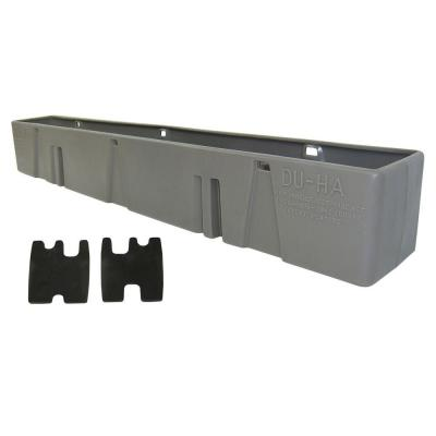 Light Gray Behind the Seat Storage Unit (Fits Chevrolet and GMC HD Crew Cab 2000-2007)