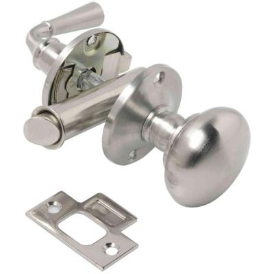 Wright Products Satin Nickel Mortise Screen Door Latch