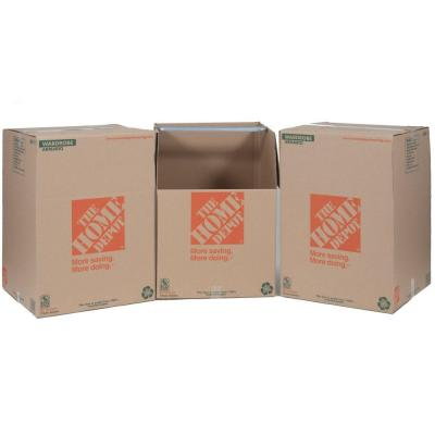 The Home Depot Wardrobe Box with Metal Hanging Bar (3-Pack)