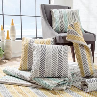Altair Geometric Hypoallergenic Poly-fill Throw Pillow