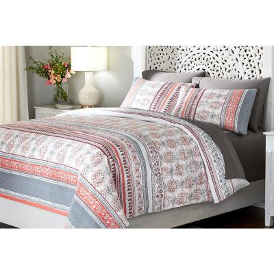 Remora 3-Piece Punch Stripe Duvet Cover Set