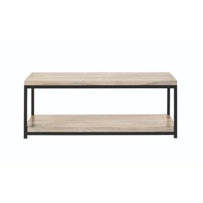 Anjou 18.5 in. Rectangular White Wash Coffee Table