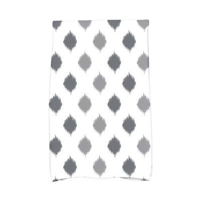 16 in. x 25 in. Ikat Dot Stripes Holiday Geometric Print Kitchen Towel