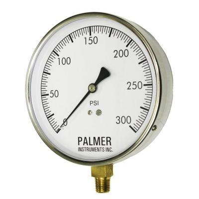 4.5 in. Dial 300 psi Stainless Steel Case Contractor Gauge