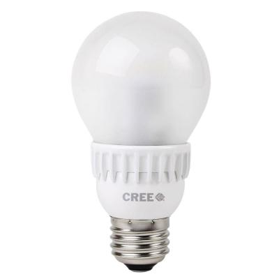 Cree 40W Equivalent Daylight (5000K) A19 Dimmable LED Light Bulbs (6-Pack)