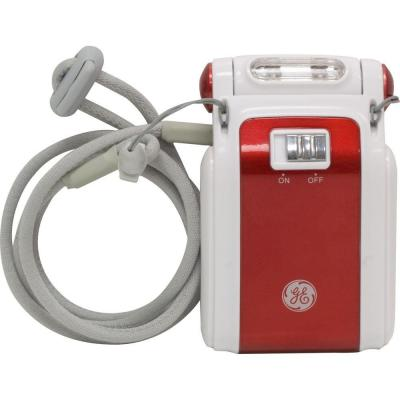 GE Battery Operated 3.5 in. LED Red Book Light