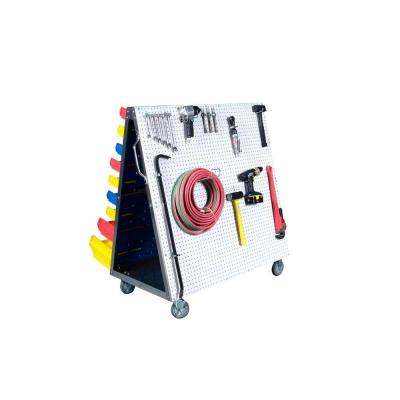 Triton Products LocBoard 48 in. L x 51-1/2 in. H x 29-3/4 in. W LP/DB Tool Cart