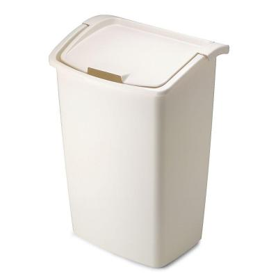 Rubbermaid 45 qt. Dual Action Bisque...