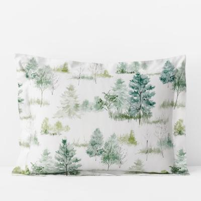 Company Cotton Lakeview Multicolored Bamboo Sateen Sham