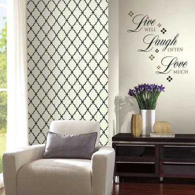 York Wallcoverings Wall In A Box Live Laugh Love Accent Wall