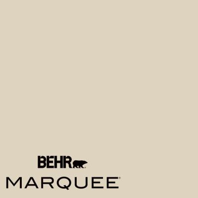 BEHR MARQUEE 1-gal. #PPU4-12 Natural Almond Flat Exterior Paint