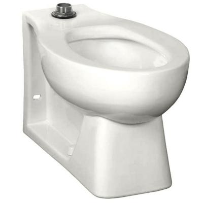 Neolo Flushometer 1.6 GPF Elongated Top Spud Toilet Bowl Only in