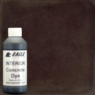 1-gal. Root Beer Interior Concrete Dye Stain Makes with Water from