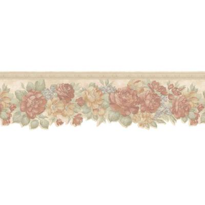 Mirage 6.825 in. Floral Border