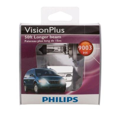 Philips VisionPlus 9003 Headlight Bulb (2-Pack)