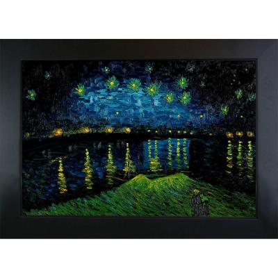 24 in. x 36 in. Starry Night over the Rhone Hand
