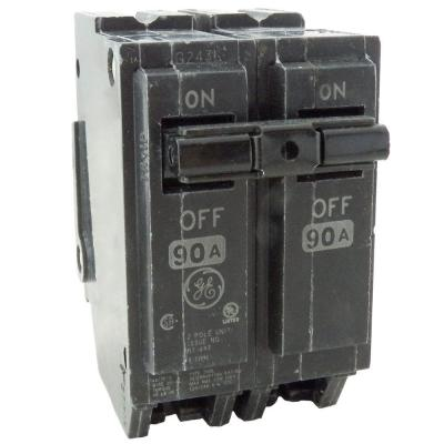 Q-Line 90 Amp 2 in. Double Pole Circuit Breaker Product Photo