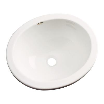 Thermocast Caladesi Undercounter Bathroom Sink in Biscuit