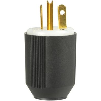 20 Amp 125-Volt 5-20 AutoGrip Plug and Connector Product Photo