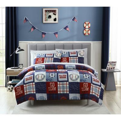 Sports Fan Comforter Set