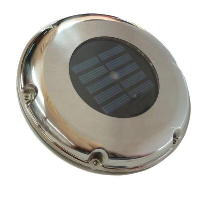 Sunforce Stainless Steel Solar Vent with Light