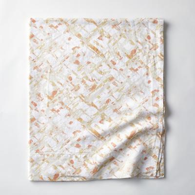 Textured Geo Linen Flat Sheet