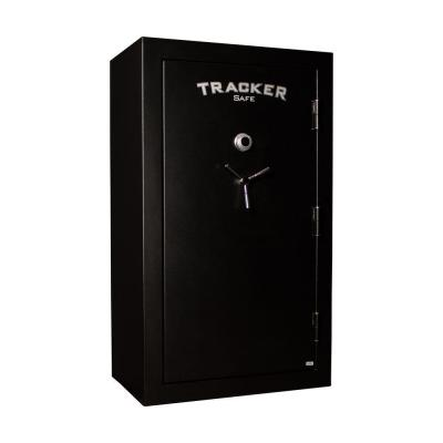 Tracker Safe 45-Gun Fire-Resistant Combination/Dial Lock, Black Powder Coat