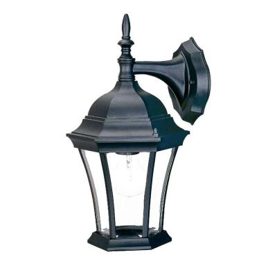 Acclaim Lighting Brynmawr Collection Wall-Mount 1-Light Outdoor Matte Black Light Fixture