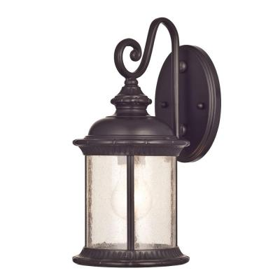 Westinghouse New Haven Wall-Mount 1-Light Outdoor Oil Rubbed Bronze Lantern