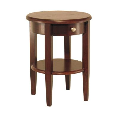 Winsome Wood Concord Walnut End Table