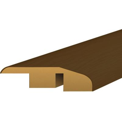 Shaw Southern Walnut 0.5 in. Depth x 1.75 in. Wide x 94 in. Length Laminate Multi Purpose Reducer Molding