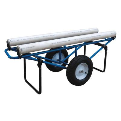 61 in. x 25 in. Portable Carpet Dispenser with Pneumatic Wheel Product Photo