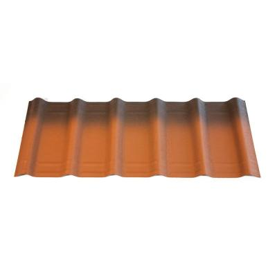 42 in. x 16 in. x 1.6 in. Terracotta Shingles (10-Pieces) Product Photo