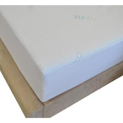 Cooltek Water-Resistant Allergen and Dust Mites Knit Mattress Cover