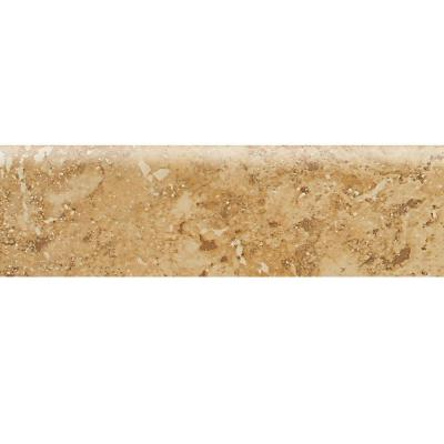 Heathland Amber 3 in. x 12 in. Glazed Ceramic Bullnose Floor
