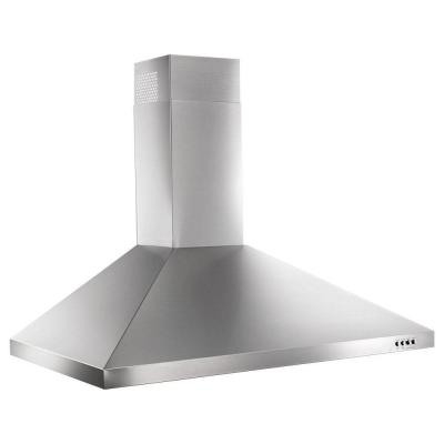 36 in. Contemporary Stainless Steel Wall Mount Range Hood in Stainless