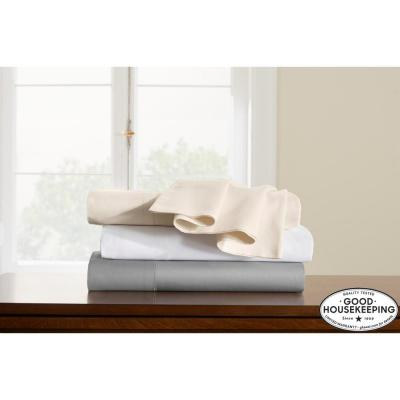 500 Thread Count Egyptian Cotton Solid Sateen Deep Pocket Sheet Set