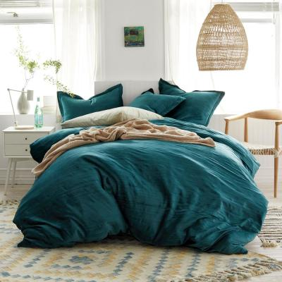 Easton Velvet Cotton Blend Duvet Cover Set