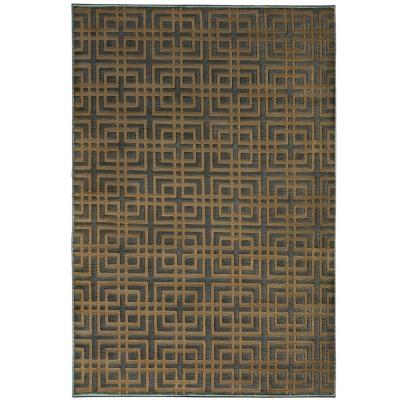 Orian Rugs Fortner Gainsboro Grey 6 ft. 7 in. x 9 ft. 8 in. Area Rug