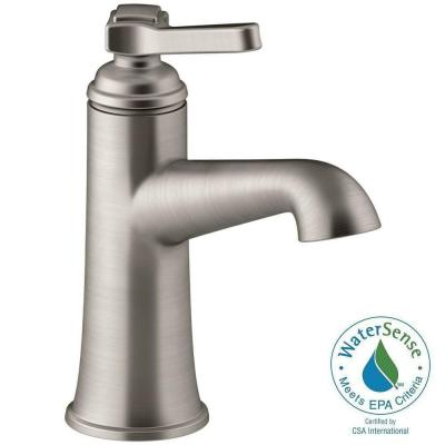 Georgeson Single Hole Single Handle Water-Saving Bathroom Faucet in Vibrant