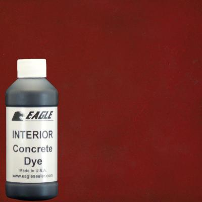 Eagle 1-gal. Rhubarb Interior Concrete Dye Stain Makes with Water from 8 oz. Concentrate