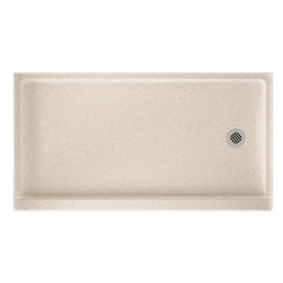 32 in. x 60 in. Solid Surface Single Threshold Retrofit Right-Drain