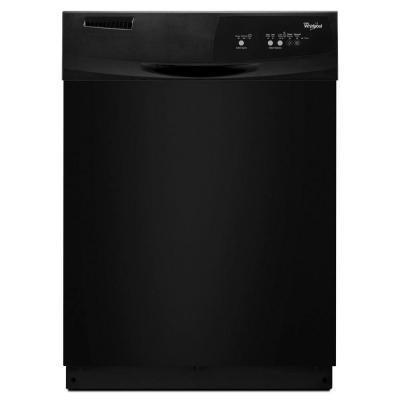 Whirlpool Front Control Dishwasher in Black