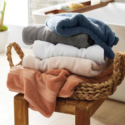 Cotton TENCEL™ Lyocell Solid Bath Towel