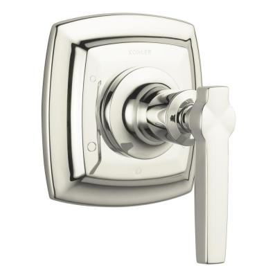Margaux 1-Handle Transfer Valve Trim Kit in Vibrant Polished Nickel with Lever Handle (Valve Not Included) Product Photo