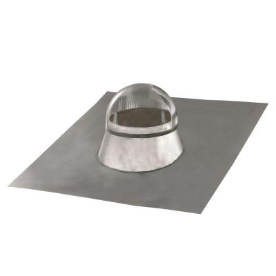 ODL 10 in. Tubular Skylight with Seamless Formable Aluminum Flashing