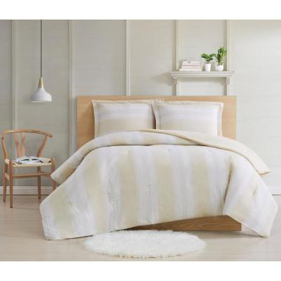 Farmhouse Stripe Comforter Set